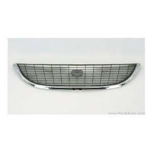CHRYSLER TOWN & COUNTRY VAN Grille assy matte dark gray; w