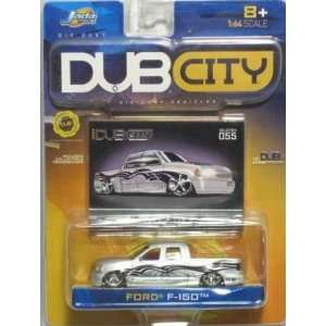 Jada Dub City Silver Ford F 150 164 Scale Die Cast Car