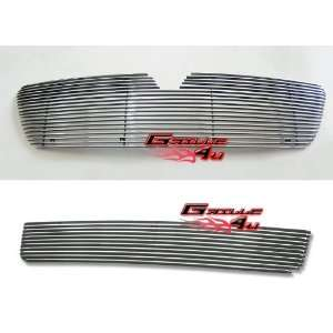 03 04 Lincoln Navigator Billet Grille Grill Combo Upper+Lower Insert