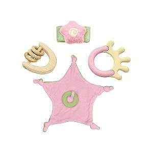 Green Sprouts Eco Friendly Teether Set   Girls Toys & Games