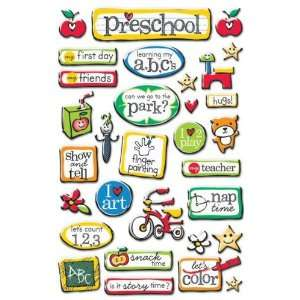 Preschool Epoxy Stickers Arts, Crafts & Sewing