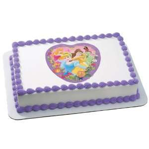 Lets Party By Deco Pac Disney Princess   Fairy Tale Edible