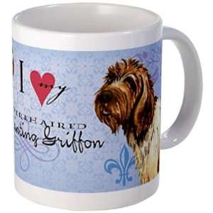 Wirehaired Pointing Griffon Cute Mug by