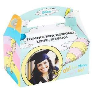Dr. Seuss Oh the Places Youll Go Graduation Personalized Empty Favor