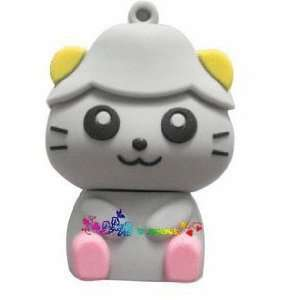small cute kitty flash drive 4GB USB 2.0 Electronics