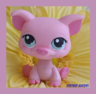 NEW ~ Littlest Pet Shop ~ PINK PIG #330