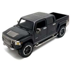 2009 Hummer H3T Black Diecast Car Model 1/26 All Stars
