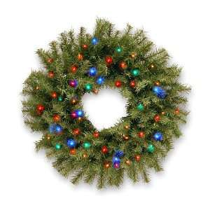 National Tree NF 309L 24W 1 24 Norwood Fir Wreath with 50
