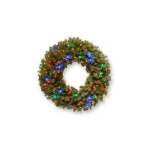 National Tree NF 309L 36W 36 Norwood Fir Wreath with 100