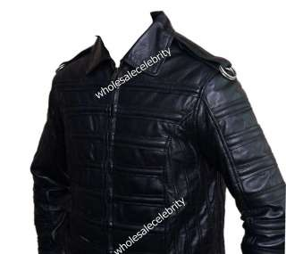 Michael Jackson Man in the Mirror Leather Jacket 9555620803049