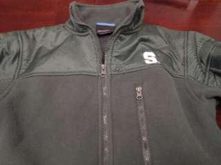 NCAA Mens Michigan State Green Denali Cool Fleece Fall Football Jacket