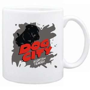 New  Dog City  Scottish Terrier  Mug Dog