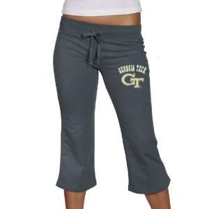 Georgia Tech Yellow Jackets Ladies Navy Blue Frost Slub
