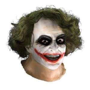 JOKER LATEX MASK WITH HAIR Toys & Games