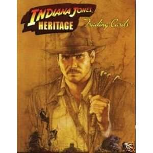 Indiana Jones Heritage Trading Card Set Toys & Games