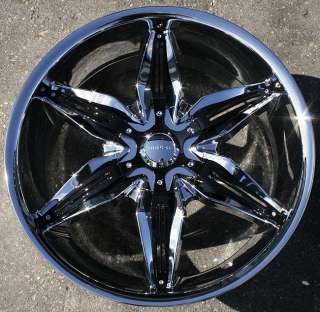 AKUZA RISSA 20 CHROME RIMS WHEELS LINCOLN LS FORD TAURUS