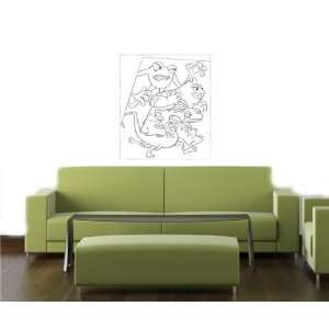 MONSTERS DISNEY Wall MURAL Vinyl Decal Sticker