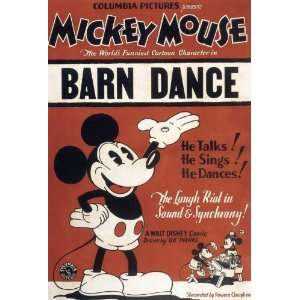 Barn Dance Movie Poster (11 x 17 Inches   28cm x 44cm) (1929) Style