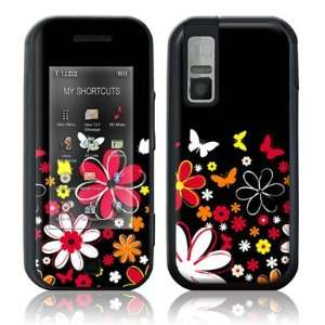 Lauries Garden Design Protective Skin Decal Sticker for Samsung Glyde