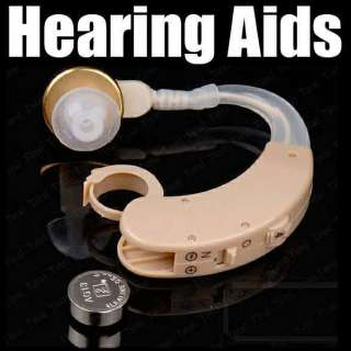 Aids Aid Digital Tone Behind Ear Voice Sound Amplifier Adjustable Loud