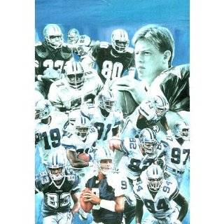 Dallas Cowboys (Group Collage) Sports Poster Print   13x19 Home