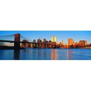 Panoramic Wall Decals   New York City Skyline 3 (4 foot wide Removable