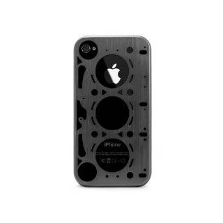 ID AMERICA GASKET Brushed Aluminum Case for iPhone 4 and