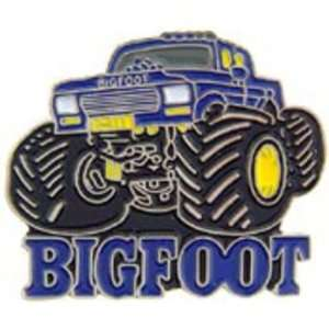 Bigfoot Monster Truck Pin 1 Arts, Crafts & Sewing