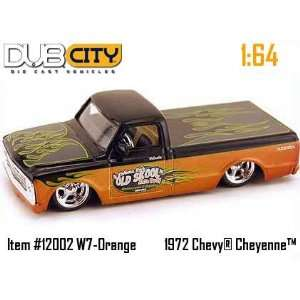 & Copper 1972 Chevy Cheyenne 164 Scale Die Cast Truck Toys & Games