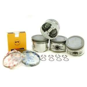 90 95 Toyota Previa Van 2.4L Dohc 2Tzfe Piston & Rings Set