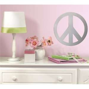 Peace Sign Mirror Wall Decals in RoomMates