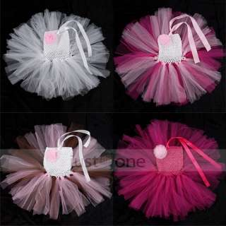 Baby Toddler Infants Girls Sweet Wedding Party Tutu Dress Newborn up