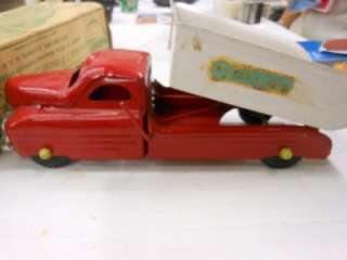 1940,S BUDDY L NO 3312 SAND AND GRAVEL TRUCK WITH ORIGINAL BOX NICE
