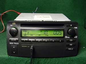 Toyota Corolla CD Radio  Ipod AUX SAT input 30 days Warranty