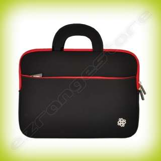 Black/Red Laptop Sleeve Case Bag for Lenovo ThinkPad T420S