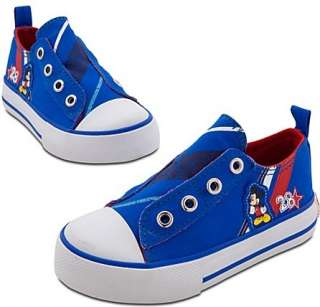 NEW Boys MICKEY MOUSE Size 8 Sneakers Disney TENNIS Toddler Shoes