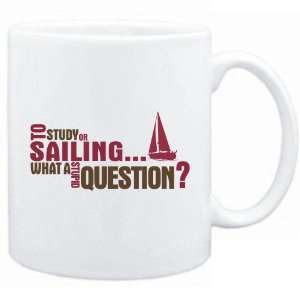New  To Study Or Sailing  What A Stupid Question
