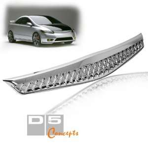 06 08 Honda Civic 2 Door Sport Grill   Chrome Painted Type R