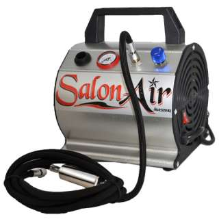 New 3 AIRBRUSH & AIR COMPRESSOR SYSTEM KIT SET Dual Action Paint