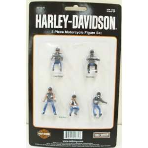 MTH 30 11076 Harley Davidson Motorcycle Figure Set Toys & Games