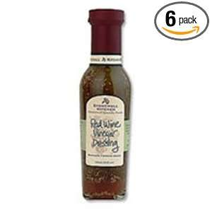 Stonewall Kitchens Red Wine Vinegar Dressing 11 Ounce Jars (Pack of 6