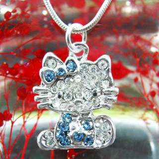 New Fashion Jewelry Girls Crystal Pendant Jewelry Necklace Xmas gift
