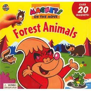 Forest Animals Magnets on the move (Over 20 Magnets