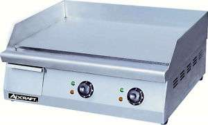 24 Commercial Electric Griddle NSF Approved w/Warranty 646563996727
