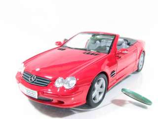 Superior 2003 Mercedes SL500 1/24 Red Diecast Car