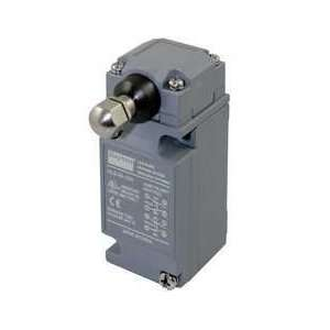 Dayton 12T899 Limit Switch, DPDT, Horiz, Side Push Rod