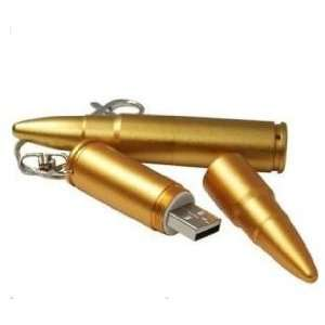 8g USB Flash Stick Drive Cartoon Bullet Ammo Shaped