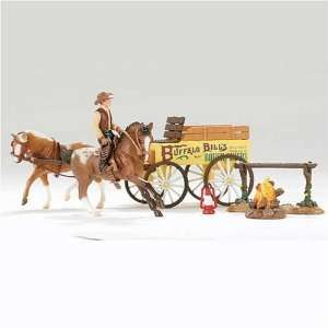 Breyer Horses Buffalo Bill Rough Rider Play Set   Stablemates