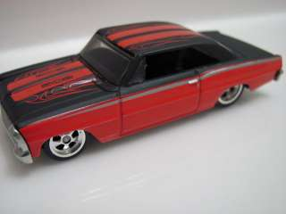 HOT WHEELS 30 CAR SET PHILS GARAGE 66 CHEVY NOVA
