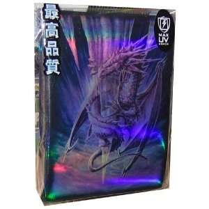 Arctic Dragon Card Sleeves (Magic size) Toys & Games